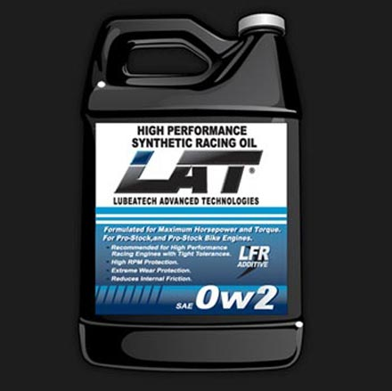 LAT 0w2 BM Ultra Light-Weight Synthetic Racing Oil