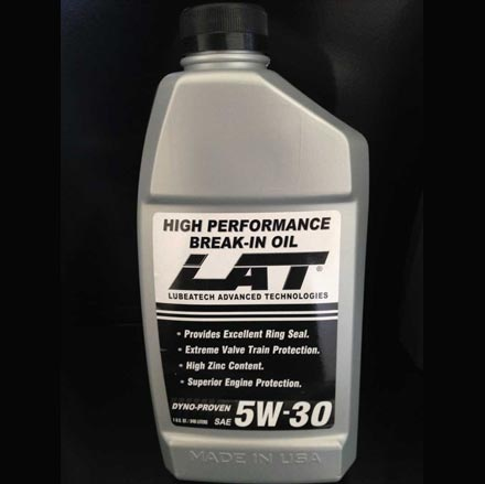 LAT 5w30 SAE Break-In Oil