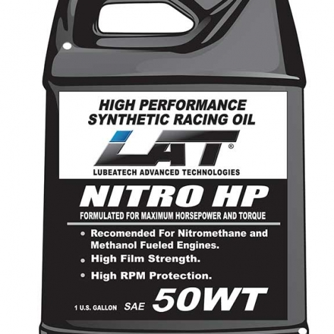 LAT HP50wt Nitro Racing Oil