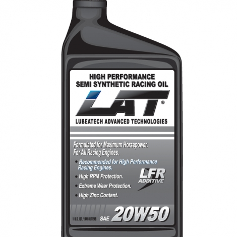 LAT 20w50 SAE Semi-Synthetic Racing Oil