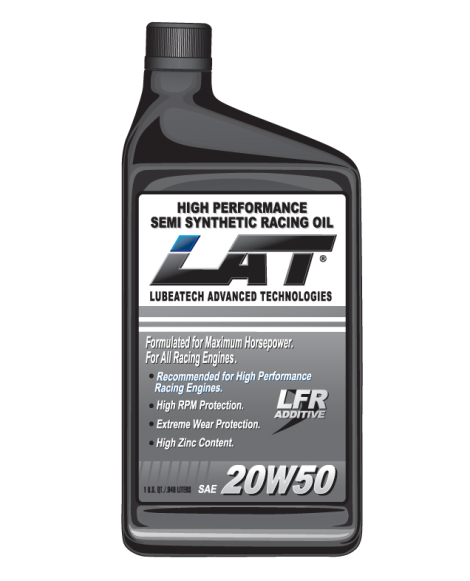 LAT 15w40 SAE Semi-Synthetic Racing Oil