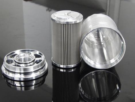 LAT HP-1 3/4 x 16 Billet Oil Filter