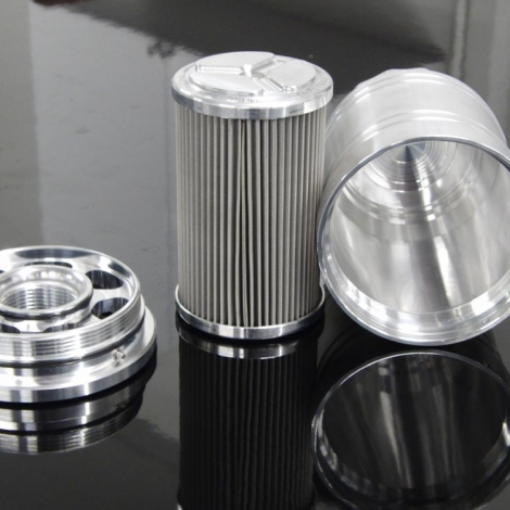 LAT HP-6 1 1/2 x 12 Billet Oil Filter